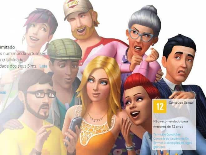 download do the sims 4 de graca
