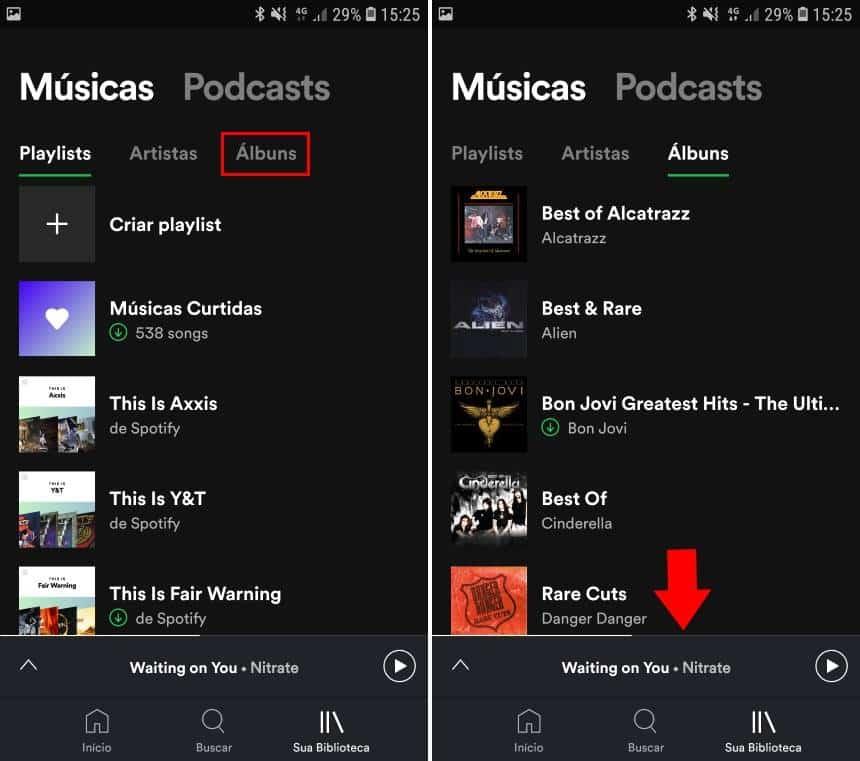 Reprodução  - 20190621161739 - Como usar o filtro do Spotify que lista as músicas salvas no celular