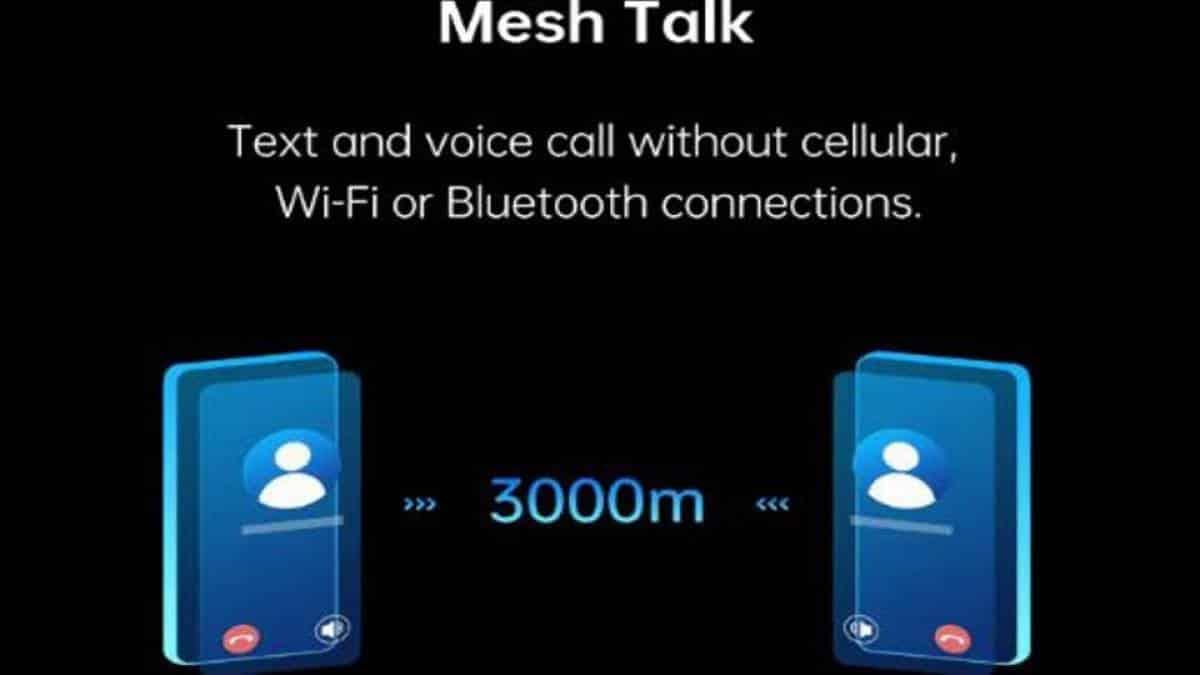 Mesh talk Oppo