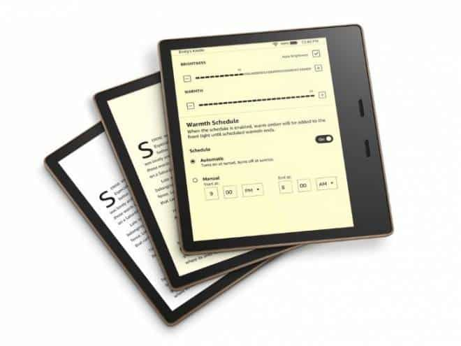 Você não precisa mais mudar manualmente o brilho na tela do Kindle