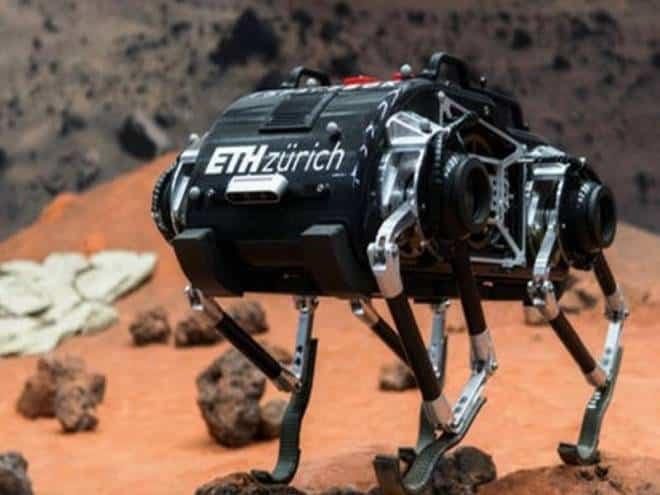 Robô SpaceBok é capaz de caminhar perfeitamente na gravidade lunar