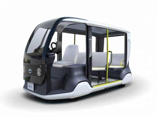 Toyota desenvolve veículo especial para as Olimpíadas de Tóquio