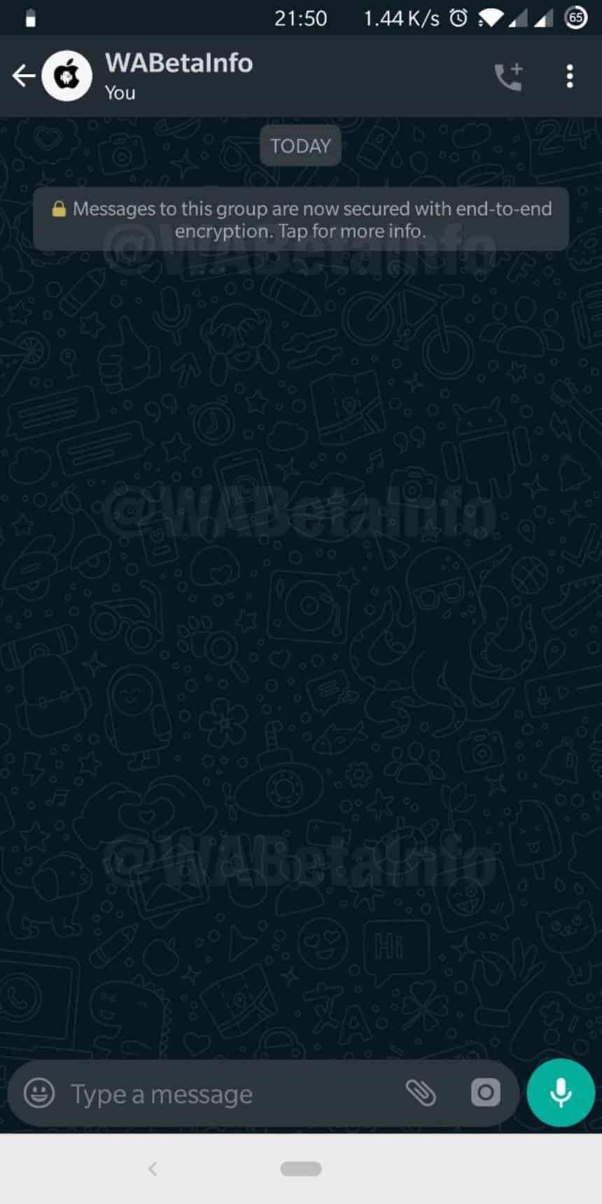 Novo Papel De Parede Do Whatsapp Indica Que O Modo Escuro Esta Por Vir
