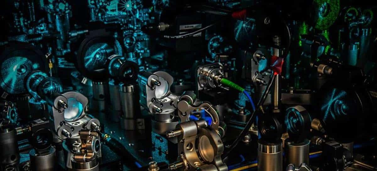 Parte de um computador quântico da Honeywell.