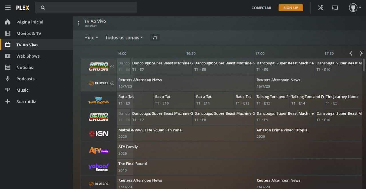 Plex oferece TV grátis em mais de 220 países, incluindo o Brasil 21