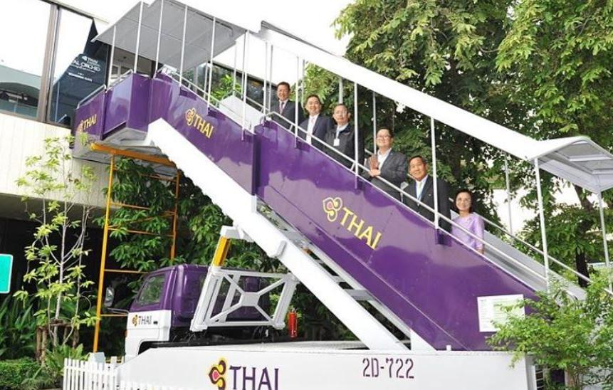 Thai Airways/Reprodução