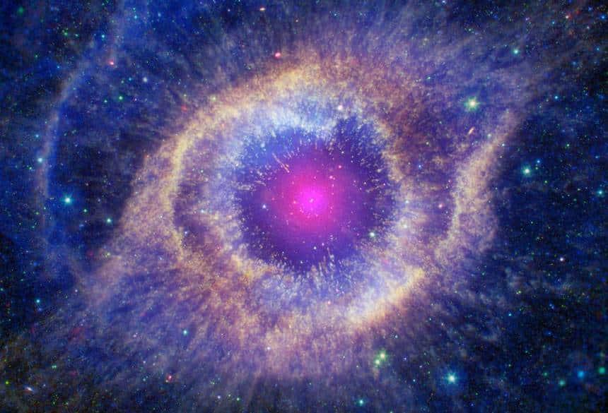 Nasa/CXC/JPL-Caltech/SSC/STScI(M. Meixner)/ESA/NRAO(T.A. Rector)