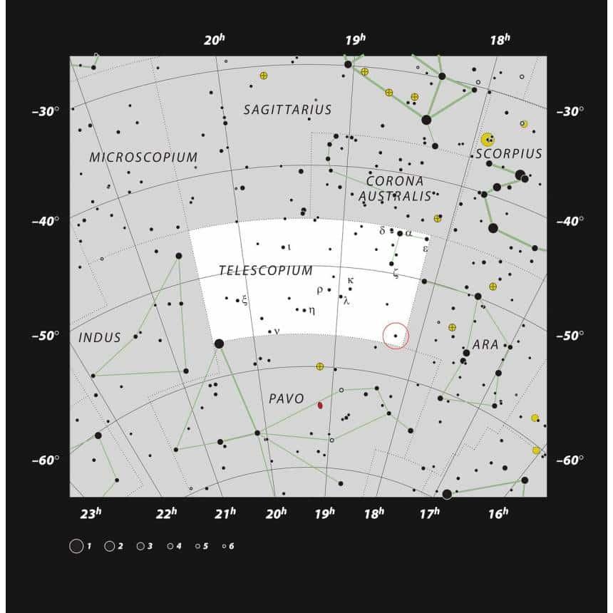 ESO/IAU/Sky & Telescope