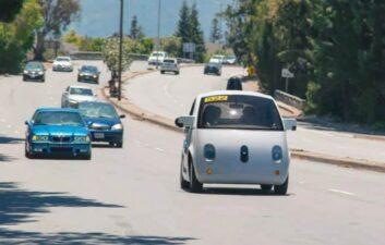 Los autos de Google mostraron cientos de fallas en 1 año de pruebas