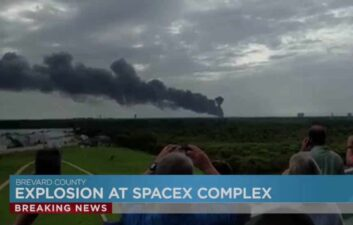 Facebook satellite destroyed by SpaceX launch failure