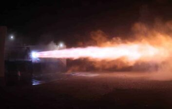 SpaceX tests rocket that will take humans to Mars