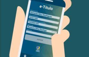 E-título: saiba como usar o aplicativo que substitui o título de eleitor