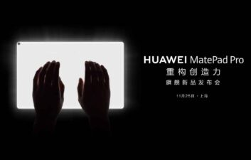 Huawei divulga vídeo do tablet MatePad Pro