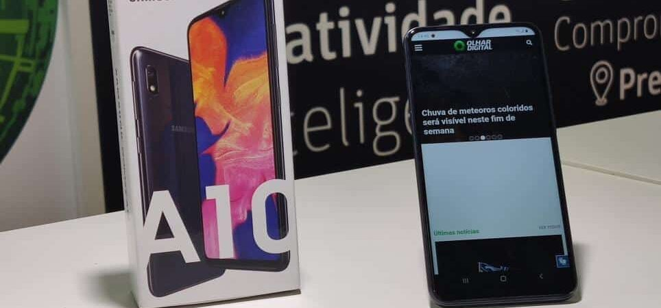 Samsung Galaxy A10, one of the smartphones benefited by the new security updates policy.
