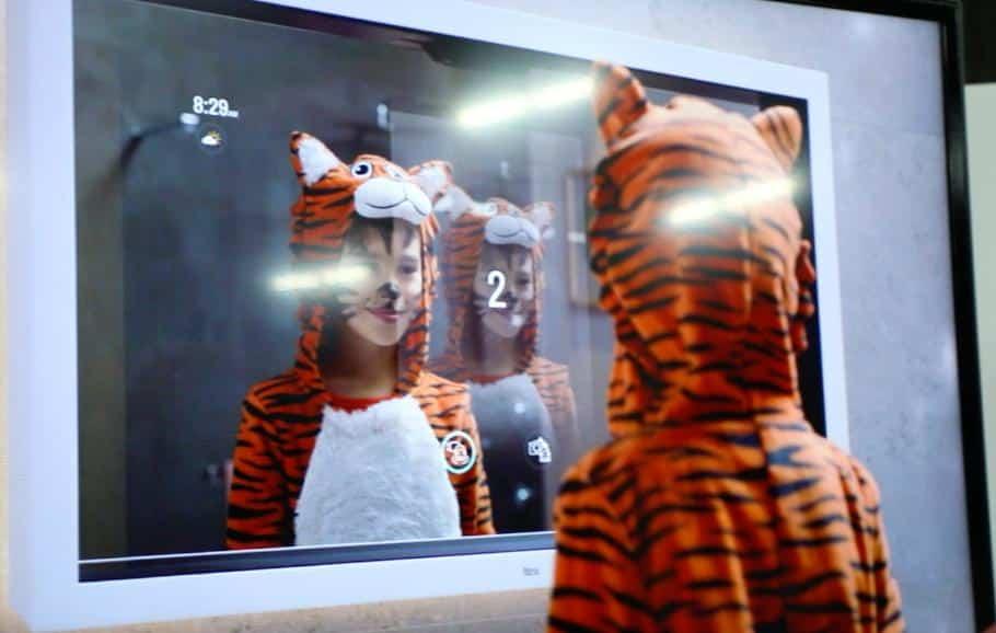 CES 2020, espelho inteligente - Olhar Digital