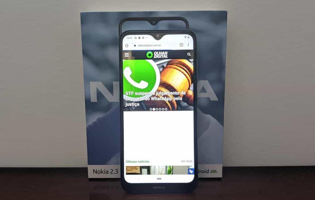 Review Do Nokia 2 3 Celular Tem Boa Autonomia Mas Peca No Desempenho Olhar Digital