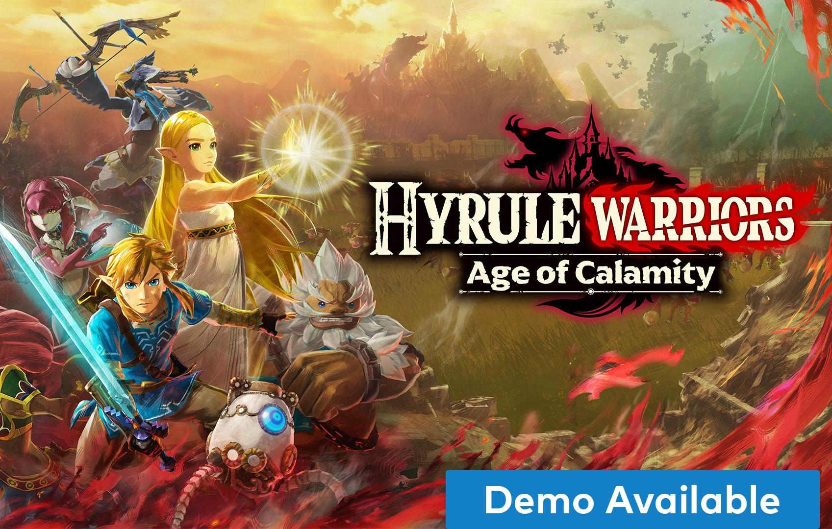 Switch Hyrule Warriors Age Of Calamity Demo Available Olhar Digital
