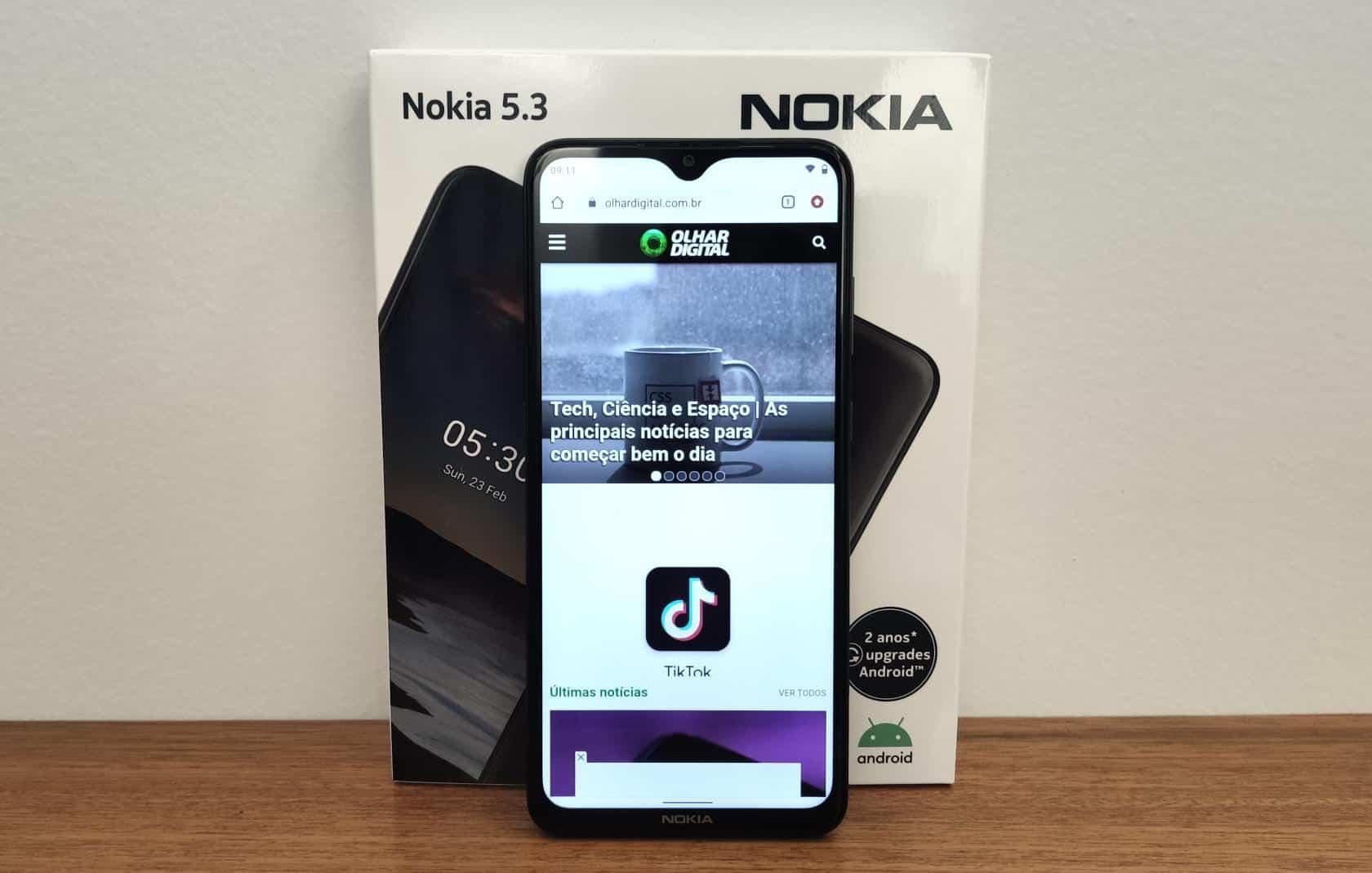 Hands On Do Nokia 5 3 Novo Celular Intermediario Da Marca No Brasil Olhar Digital