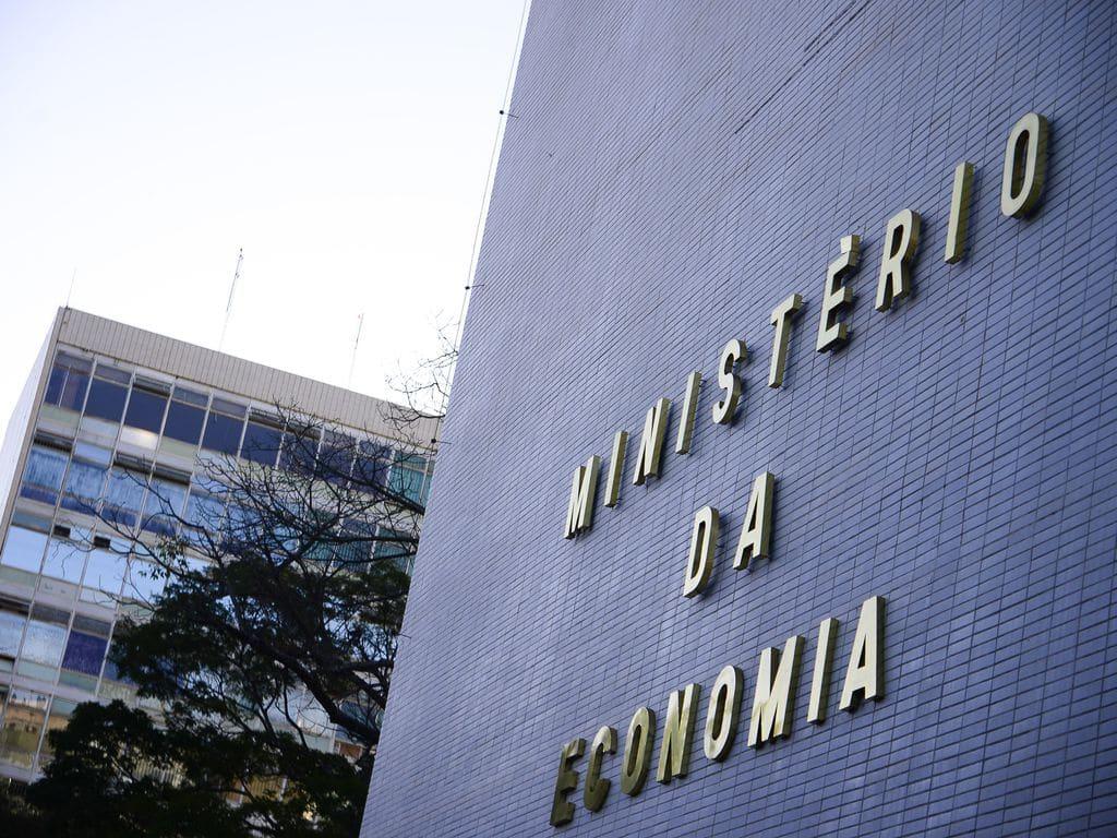 Fachada do Ministério da economia na Esplanada dos Ministério da Economia