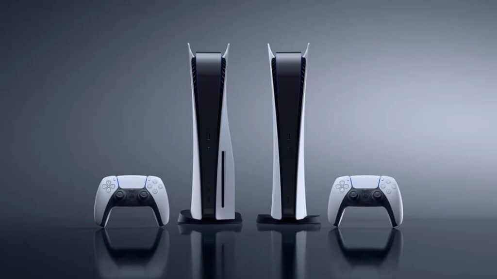 PlayStation 5 com e sem entrada para mídia física. Console entrou na lista das cem melhores invenções de 2020.