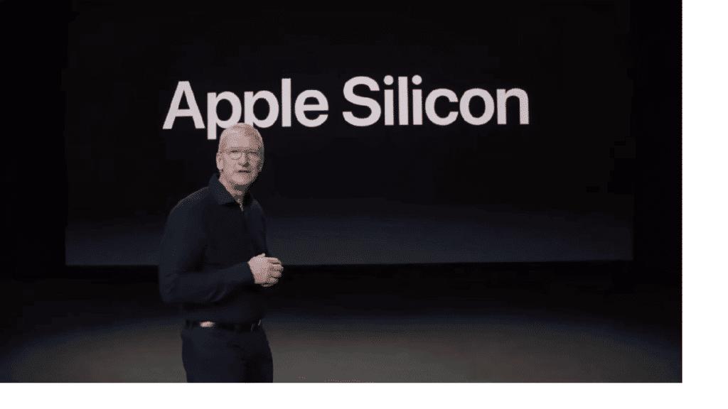Apple silicon processador próprio