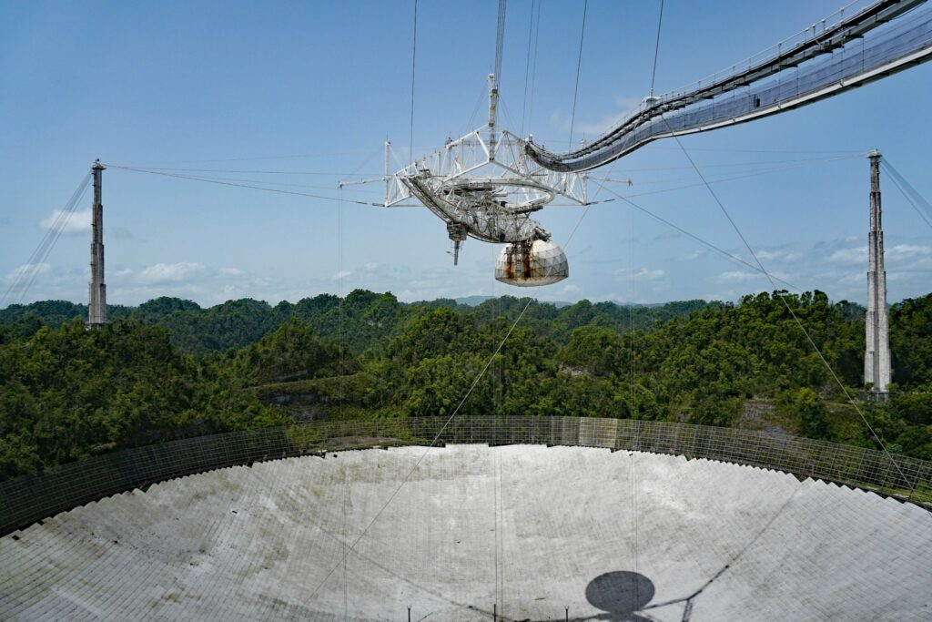 governo de porto rico telescópio de arecibo