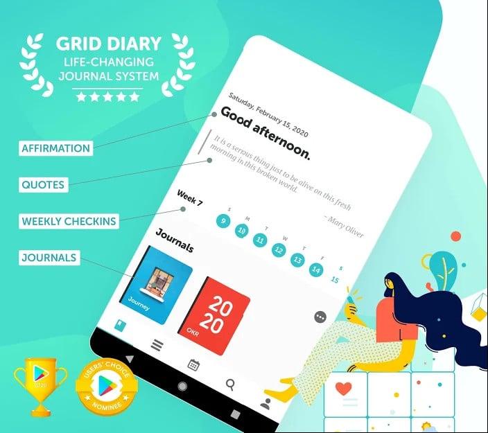 grid diary