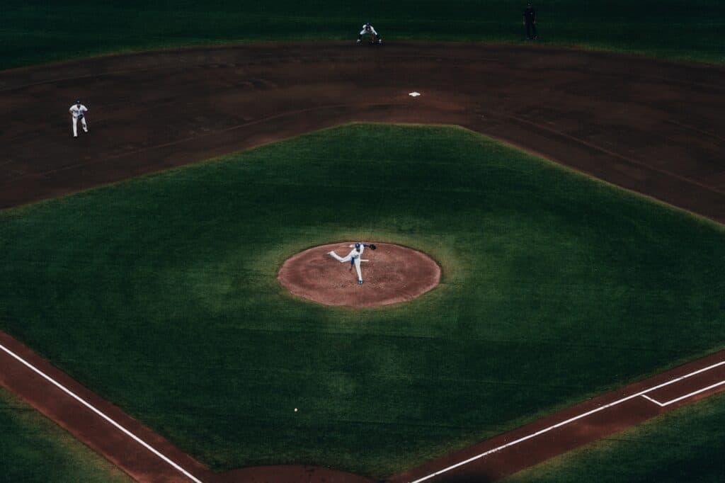 Treino de Beisebol