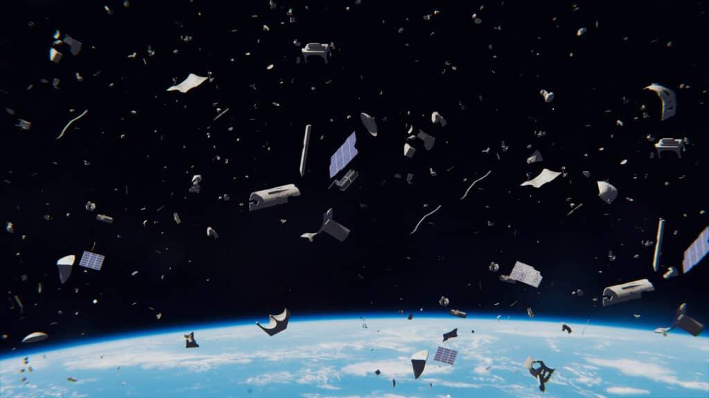 De acordo com Catálogo de Vigilância Espacial dos EUA, lixo espacial é composto por cerca de 34 mil objetos. Foto: Dotted Yeti/Shutterstock