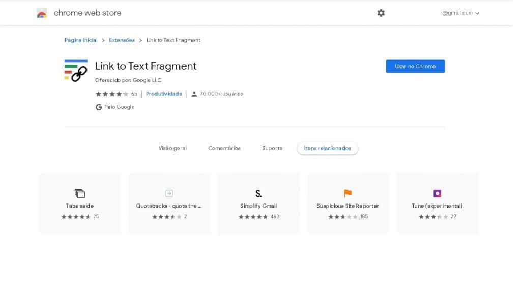 Como criar links diretos para um texto específico no Chrome
