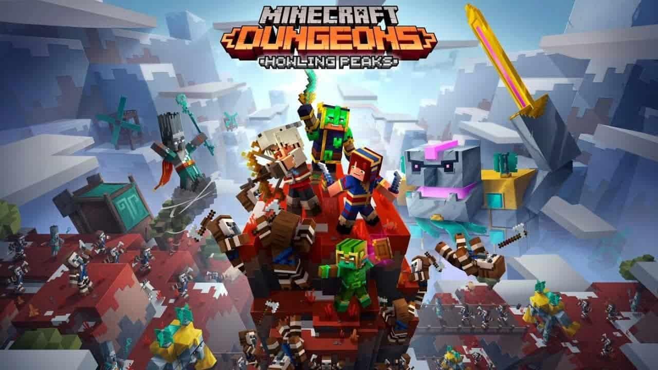 Análise de 'Minecraft Dungeons: Howling Peaks': muita neve e novos inimigos dão o tom da DLC - Olhar Digital