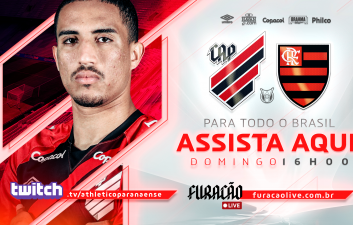 Athletico-PR x Flamengo: learn how to watch the Brazilian Championship game on Twitch