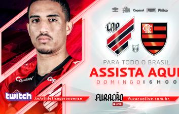 Athletico-PR x Flamengo: aprende a ver el campeonato brasileño en Twitch