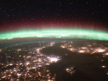 Auroras: astronauts share photos of spectacle on Earth
