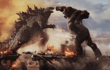 """""""Godzilla vs Kong"""": el primer tráiler muestra una pelea en un portaaviones"""