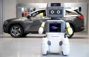 Hyundai creates robot to serve customers in showroom