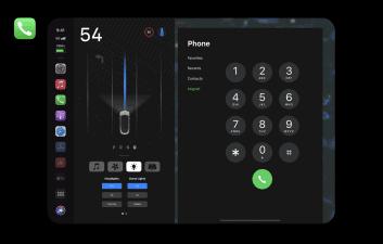 Concept shows Apple CarPlay running on Tesla Model 15 3-inch screen