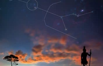 Brazilian photo of the Tupi constellation is featured on NASA's website