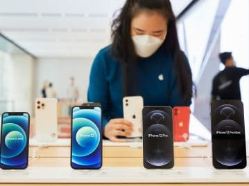 Apple had $ 78 billion in revenue from iPhones alone, ...