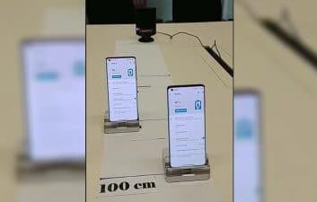 Motorola displays wireless charging a meter away