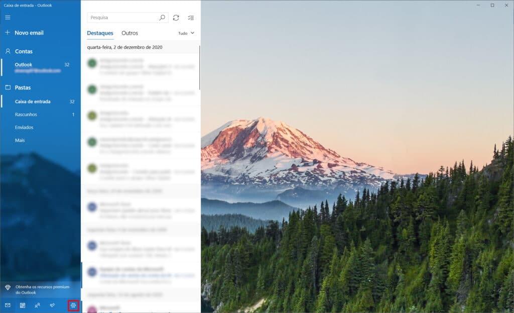 Cómo no ser rastreado en Microsoft Mail - Paso 1