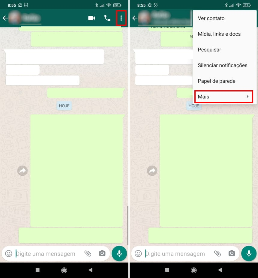 Como migrar conversas do WhatsApp para o Telegram no Android - Passo 2