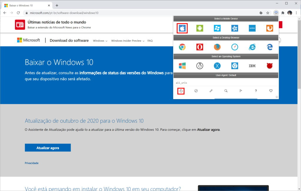 How to download Windows 10 ISO from Microsoft website - Step 5