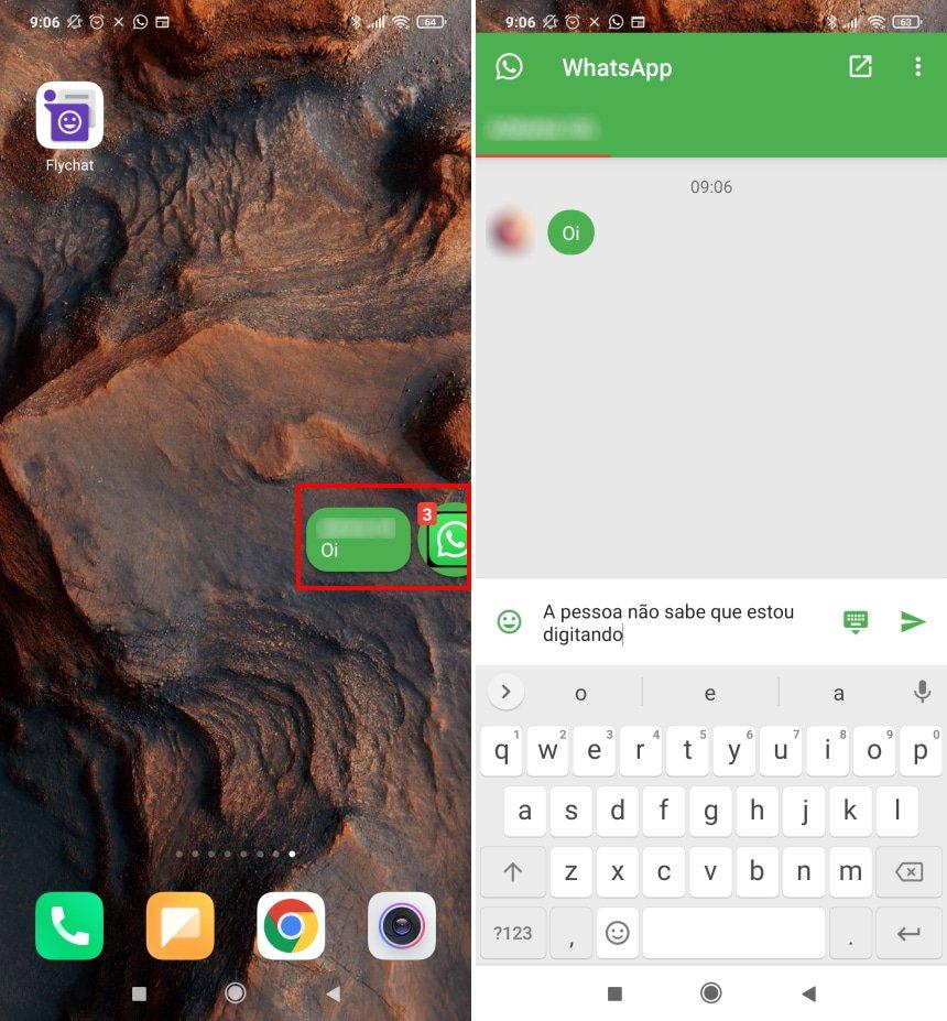 """Como esconder o status """"digitando"""" no WhatsApp - Passo 7"""