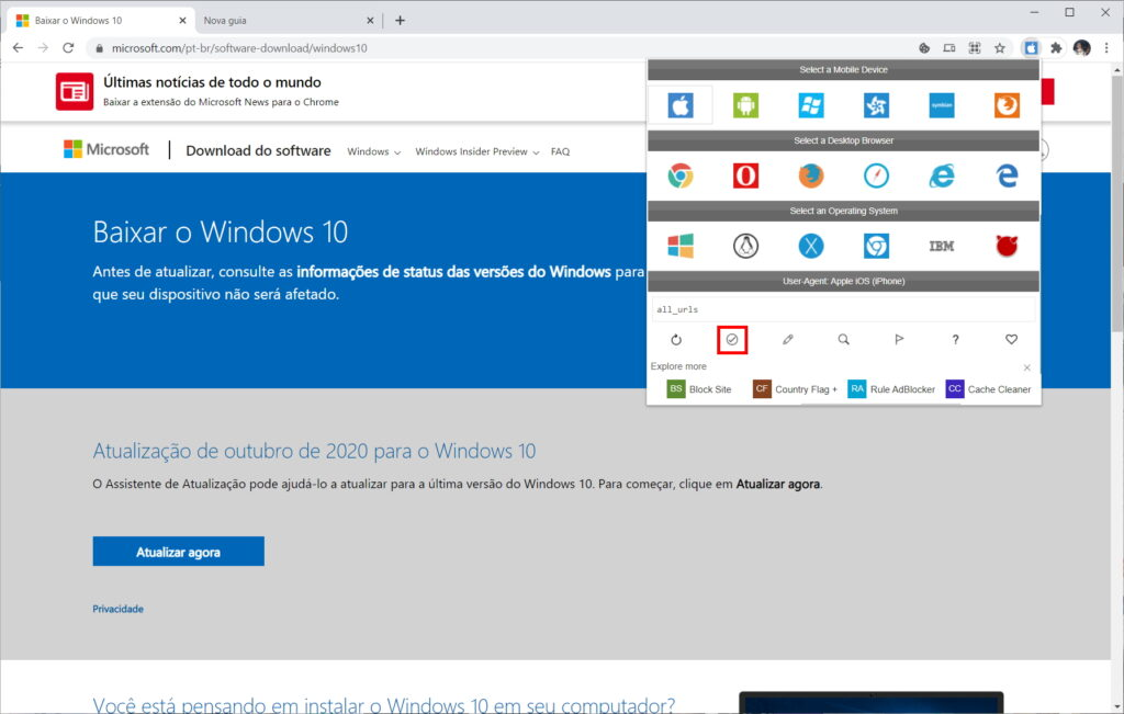 How to download Windows 10 ISO from Microsoft website - Step 9