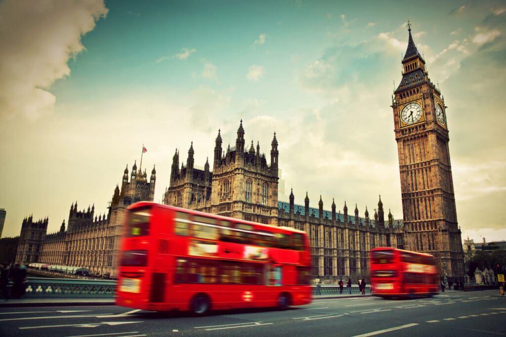 Londres, no Reino Unido