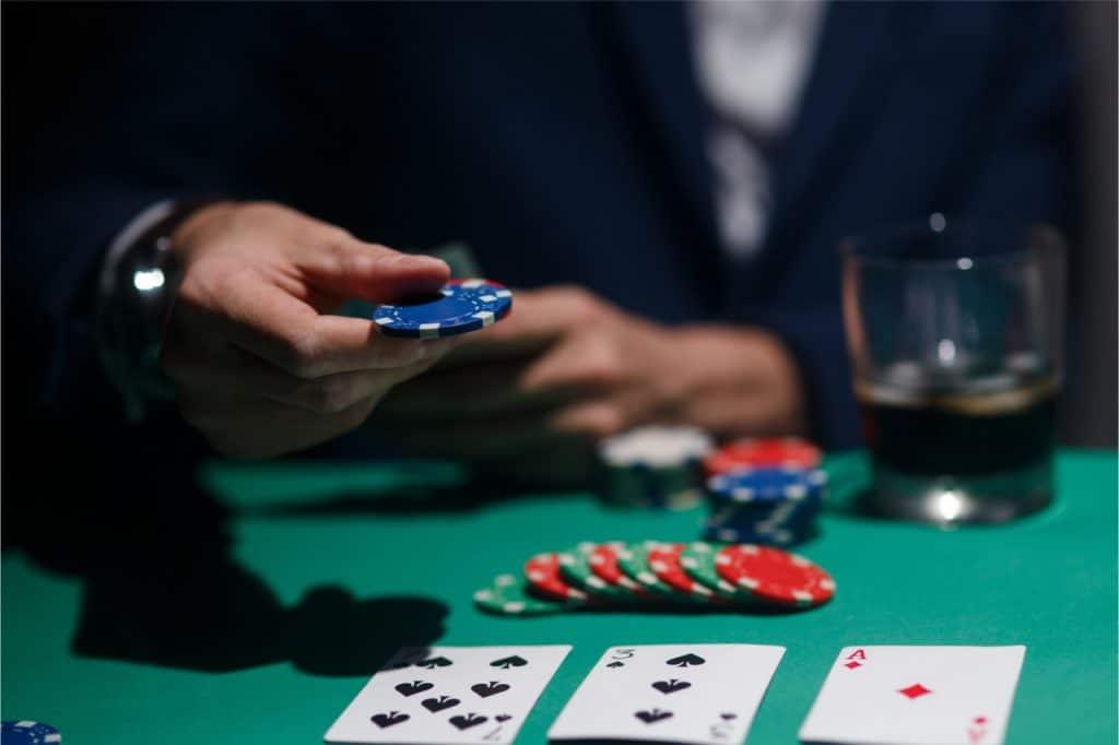 jogo de pôquer