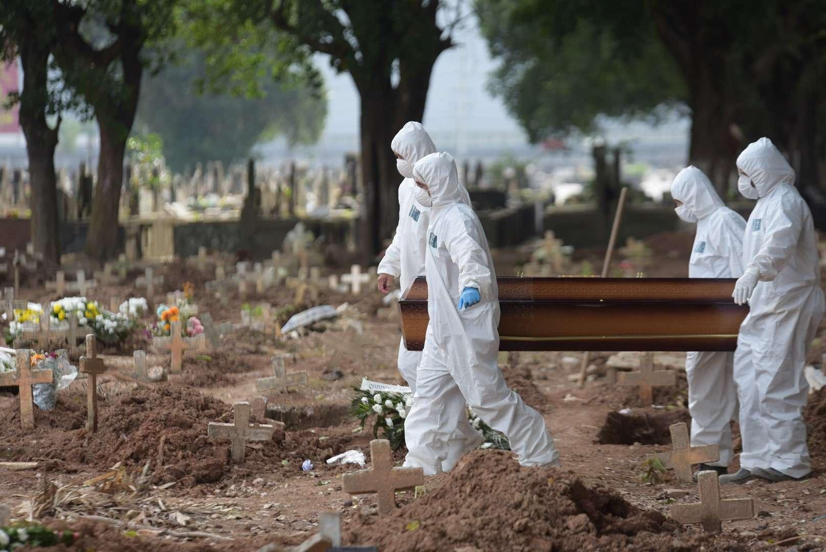 Covid-19: Brasil tem 1.386 mortes nas últimas 24h; total ultrapassa 254 mil