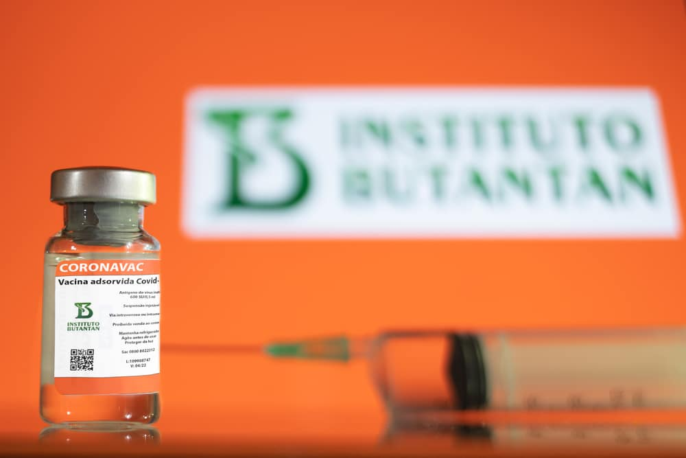 Coronavac - Vaccine Covid-19 from Butantan and Sinovac